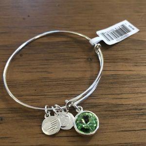 Alex and Ani Silver Bangle Bracelet